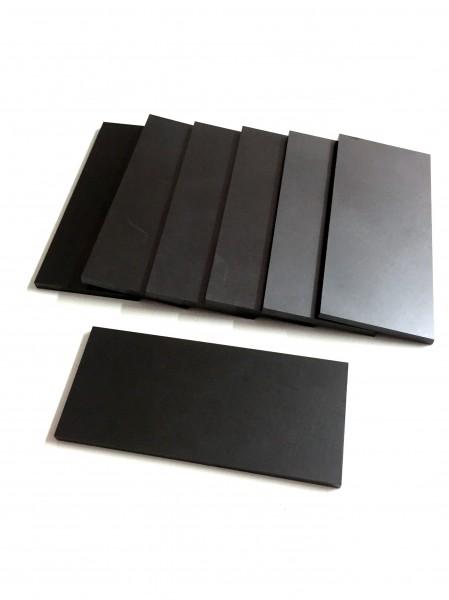 Palettes de carbone compatible pompes de vide Becker WN124-161/WN124-239 (95x43x4)